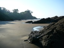 Dominical sahilinde gelgit olayı