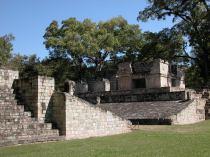 Honduras'ın Maya antik şehri Copán