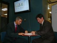 Kosta Rika Ulusal Borsası CIO'su Jorge Ramírez ile görüşme