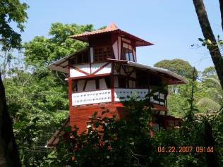Kosta Rika'da Puerto Viejo adlı kasabada Agapi isimli otel