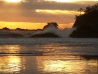 Kosta Rika'nın Manuel Antonio sahili