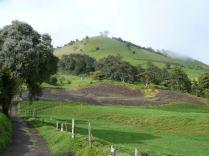 Kostarika'nın dağlık bir bölgesi