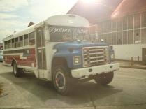 Panama'da halk otobüsü