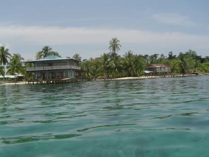 Panama'nın Karayip Denizi'nde Bocas del Toro bölgesi