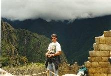 Peru'nun antik İnka şehri Machu Pichu'da