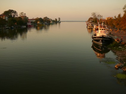 Sakarya nehrinin Karadeniz'e açıldığı nokta